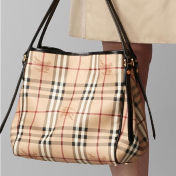Bags   Authentic Burberry Medium Haymarket Tote Bag   Poshmark b3d82c624d